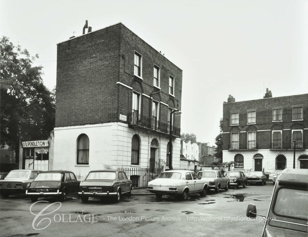 1 Cloudesley Square 1980