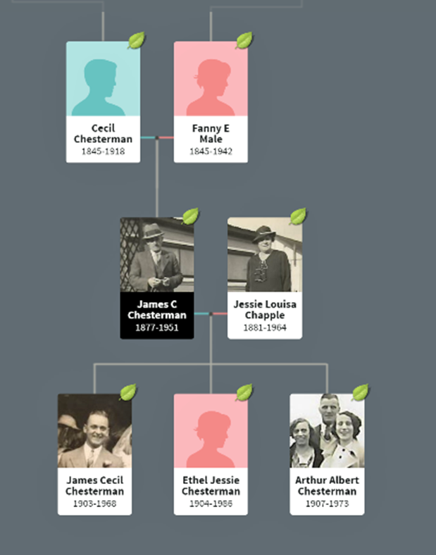 Chesterman Family Tree