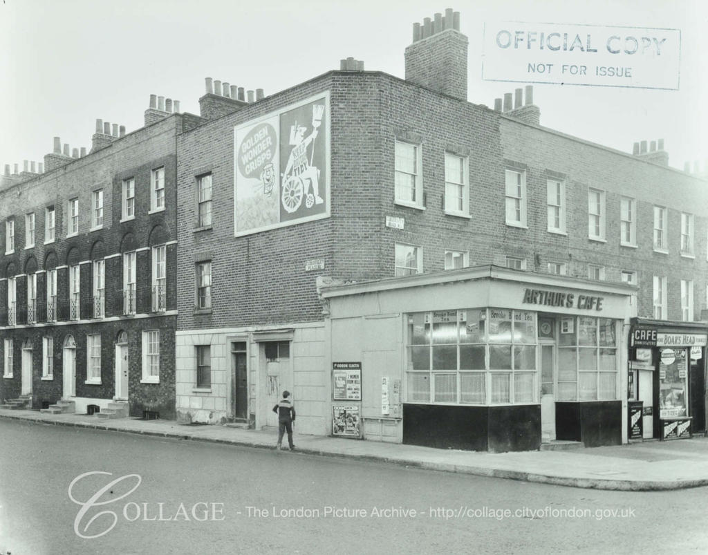 Cloudesley Road Place 1964