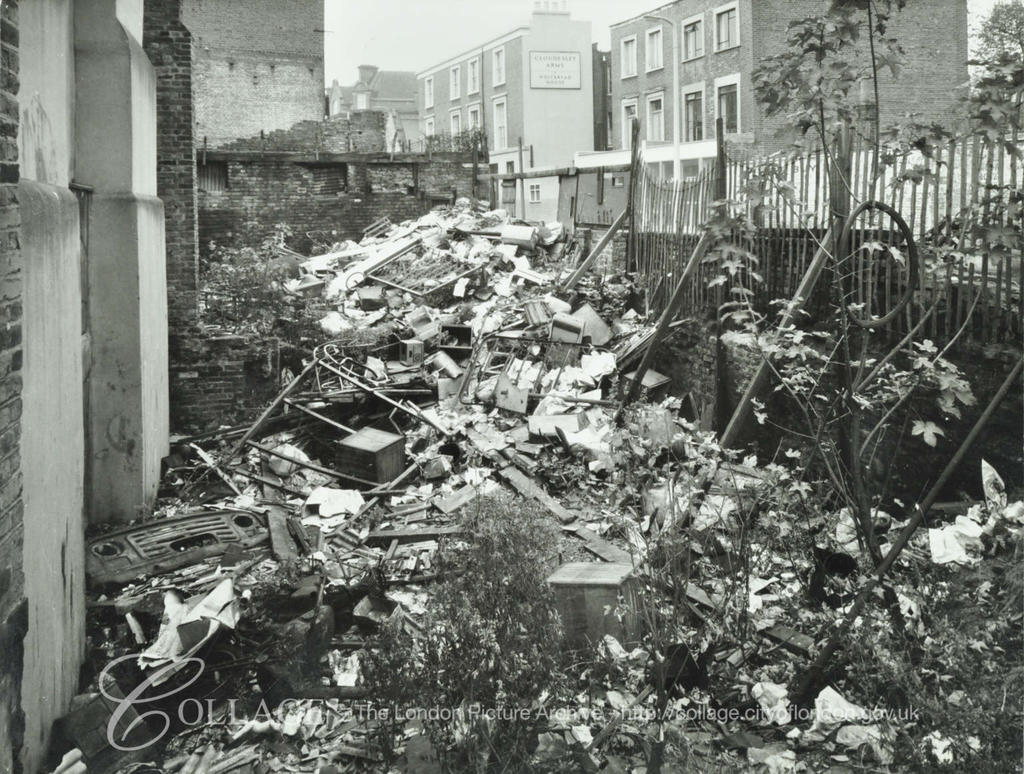 Cloudesley Street Fly Tipping 1966